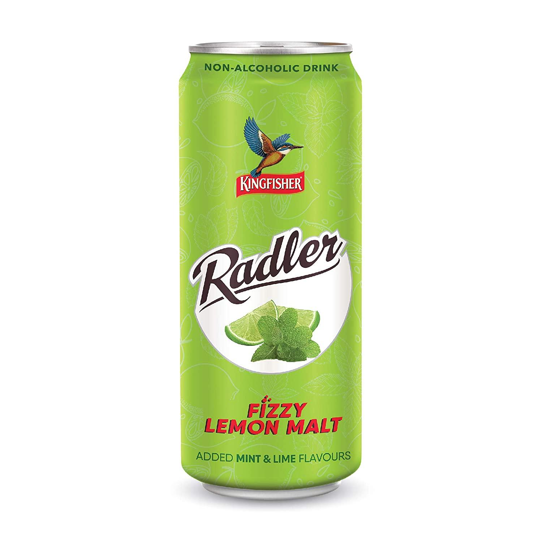 Kingfisher Radler Mint Lime Can