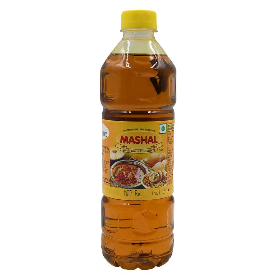 Mashal Mustard Oil Bottle