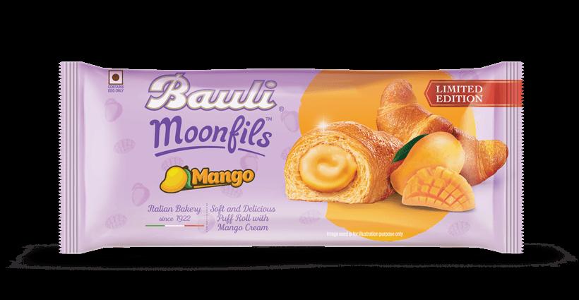 Bauli Moonfils Mango Cake.