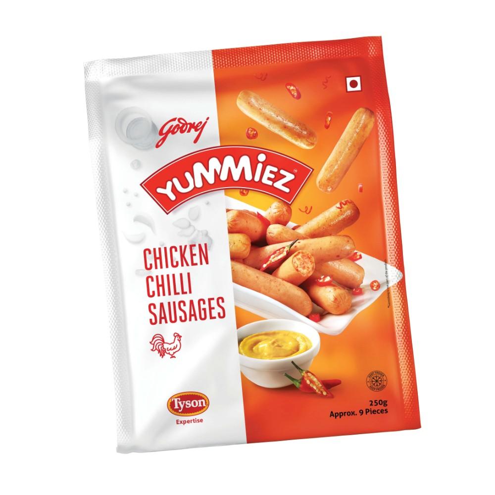 Chicken Chilli Sausages