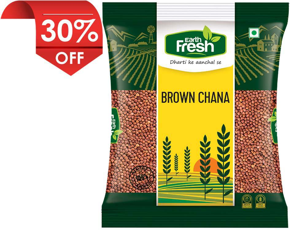 Earth Fresh Brown Chana