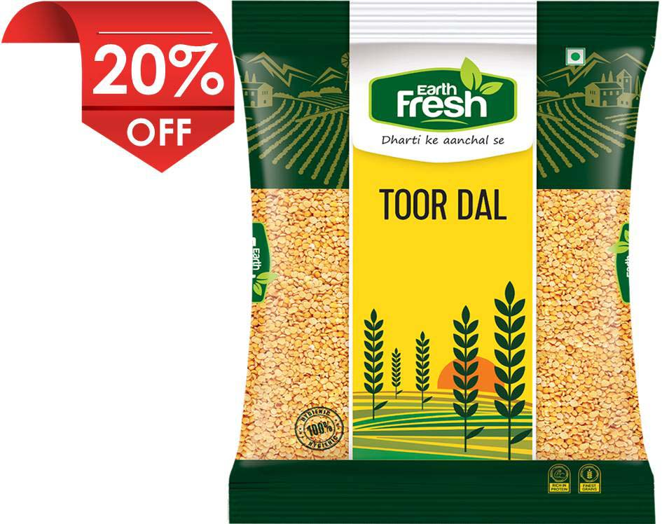 Earth Fresh Arhar/Toor Dal