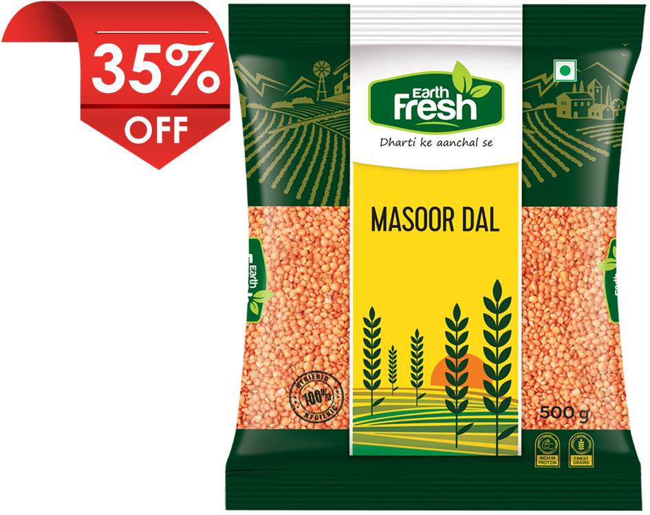 Earth Fresh Masoor Dal