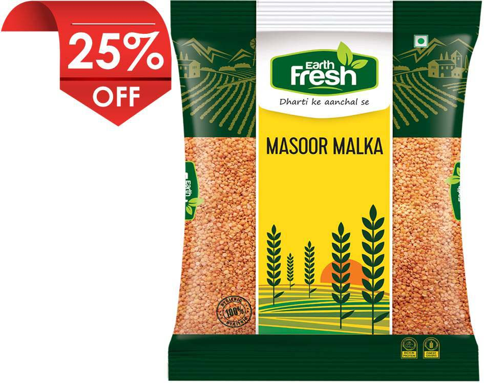Earth Fresh Masoor Malka