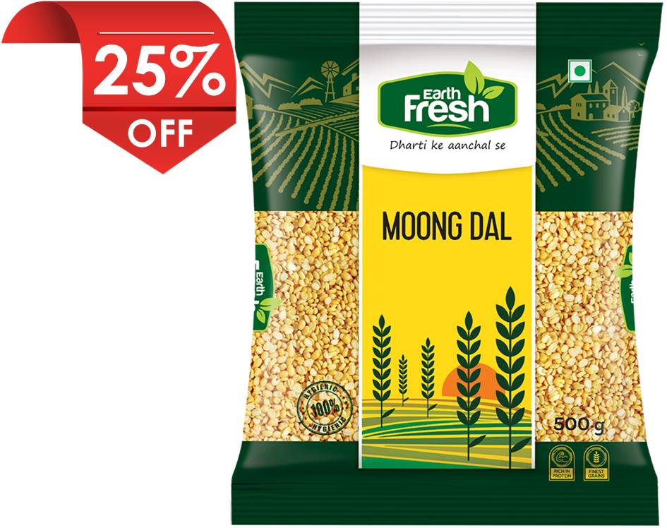 Earth Fresh Moong Dal
