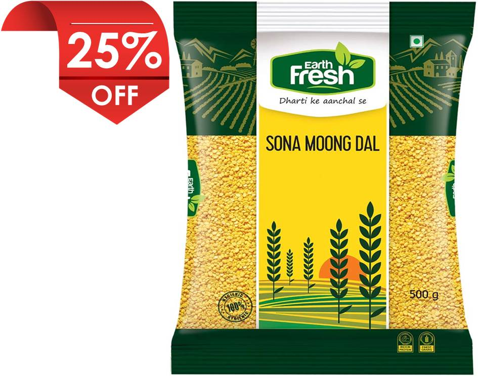 Earth Fresh Sona Moong Dal