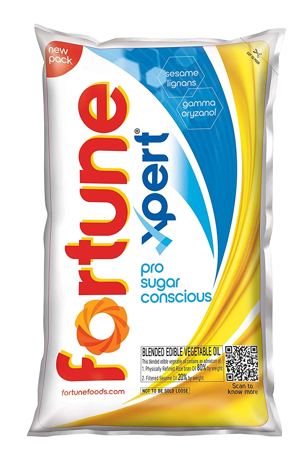 Fortune Xpert Pro Sugar Conscious Edible Oil