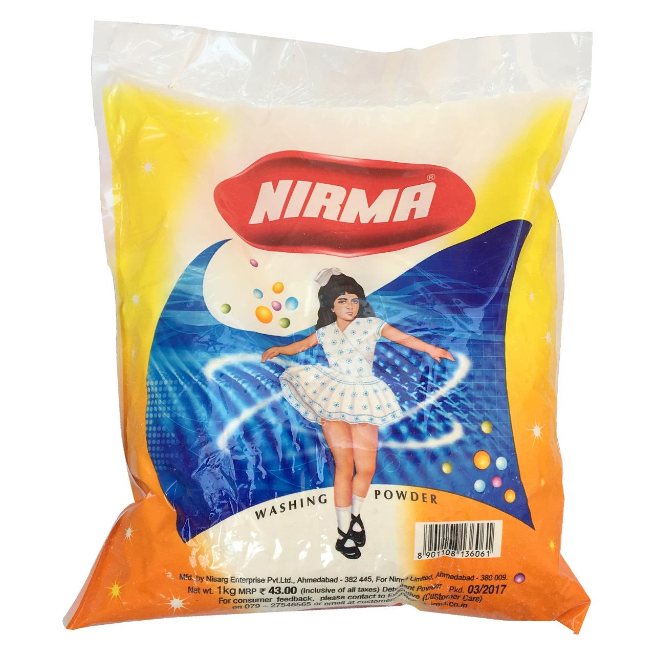 Nirma Washing Detergent Powder