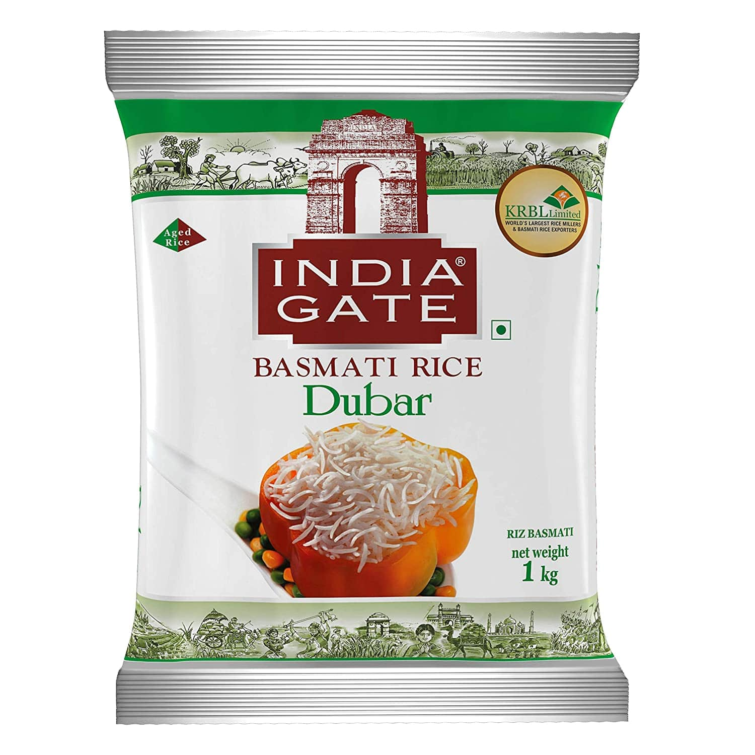 India Gate Basmati Rice Dubar,