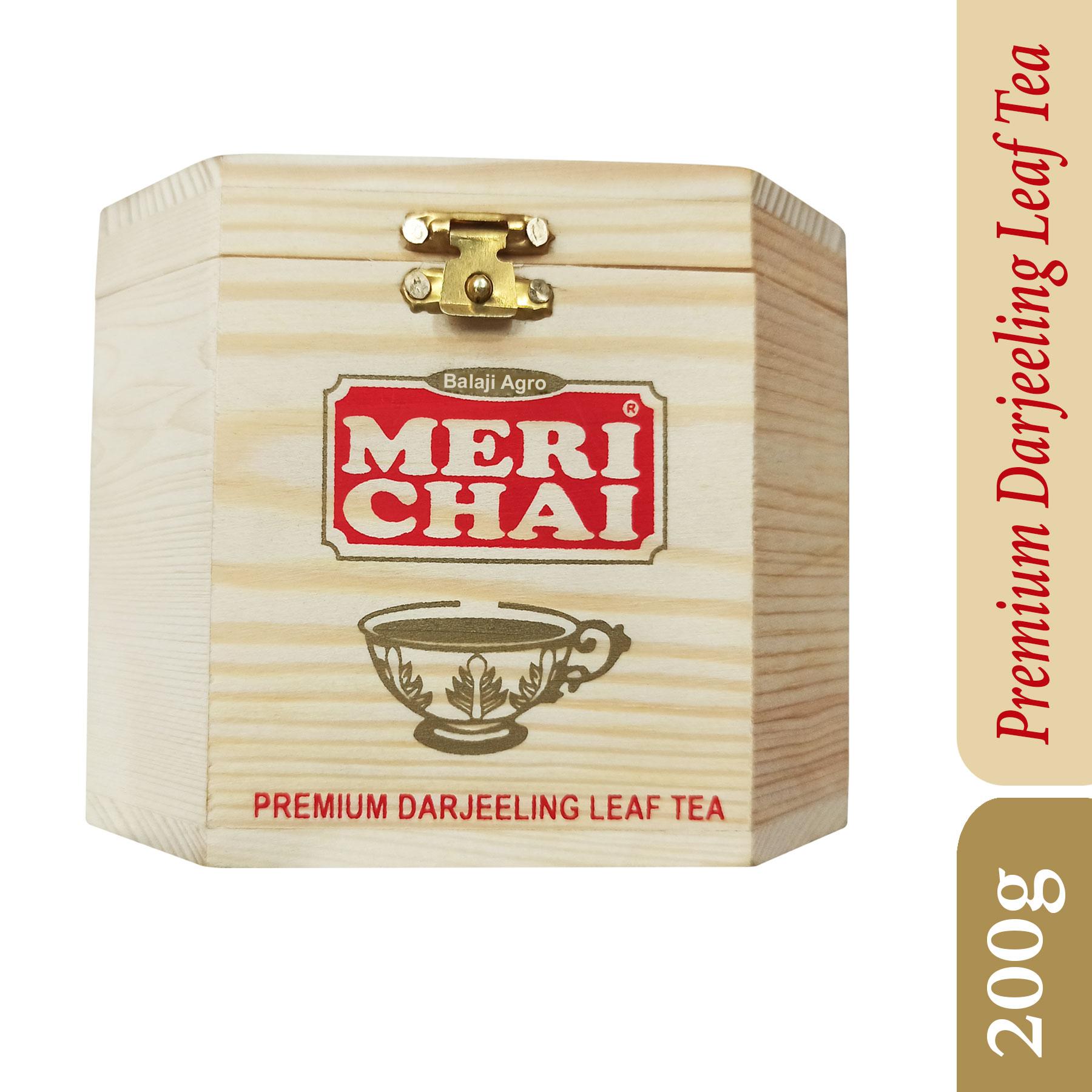 MERI CHAI Darjeeling Tea Chestlet