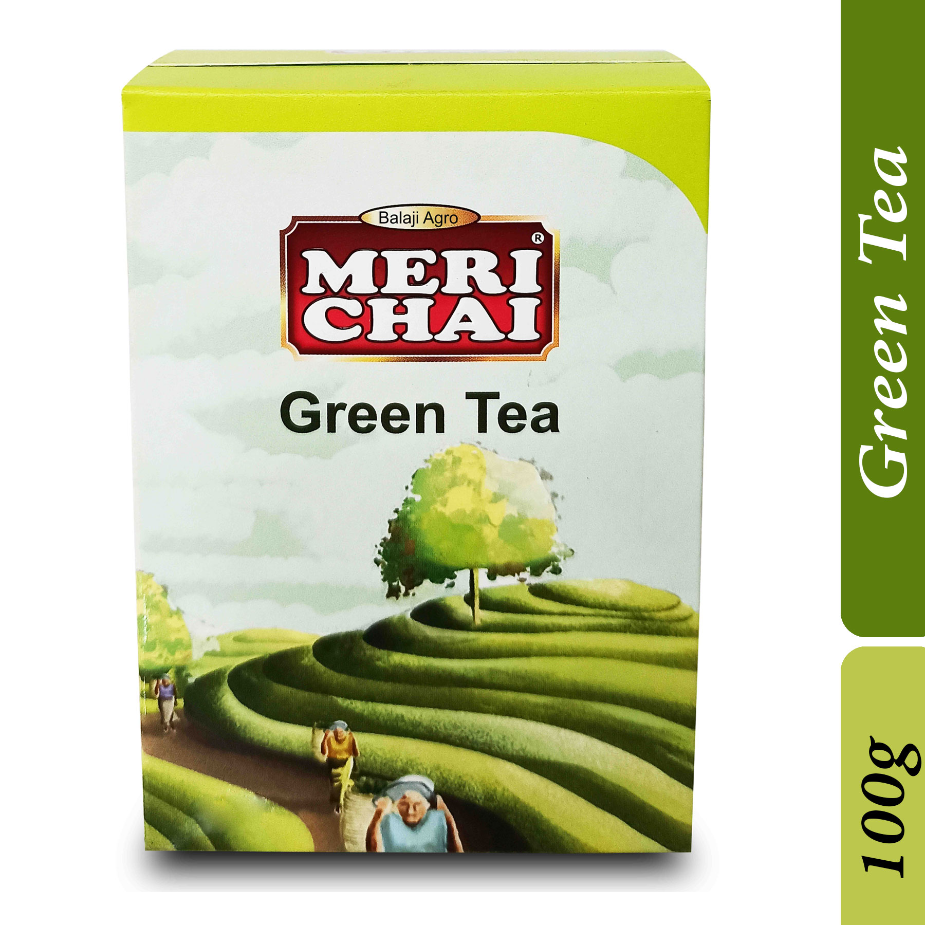 MERI CHAI Pure North Indian Green Tea