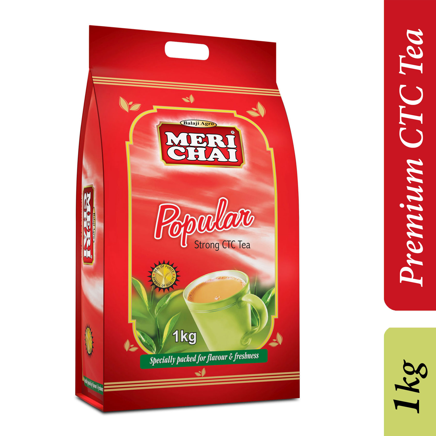 Meri Chai Popular Strong CTC Tea