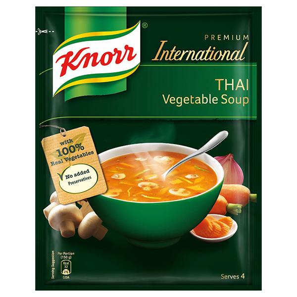 Knorr International Thai Vegetable Soup.