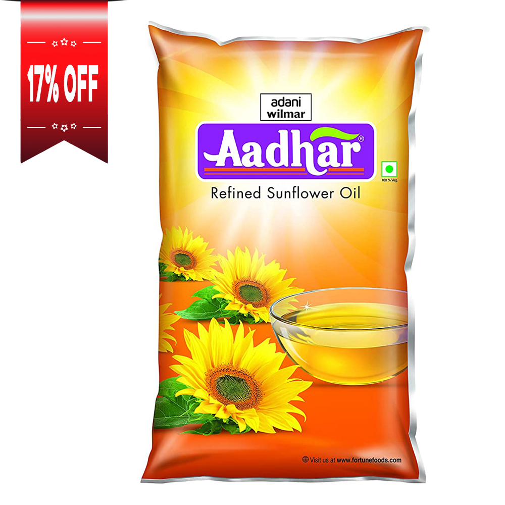 Aadhar Refined Sunflower Oil