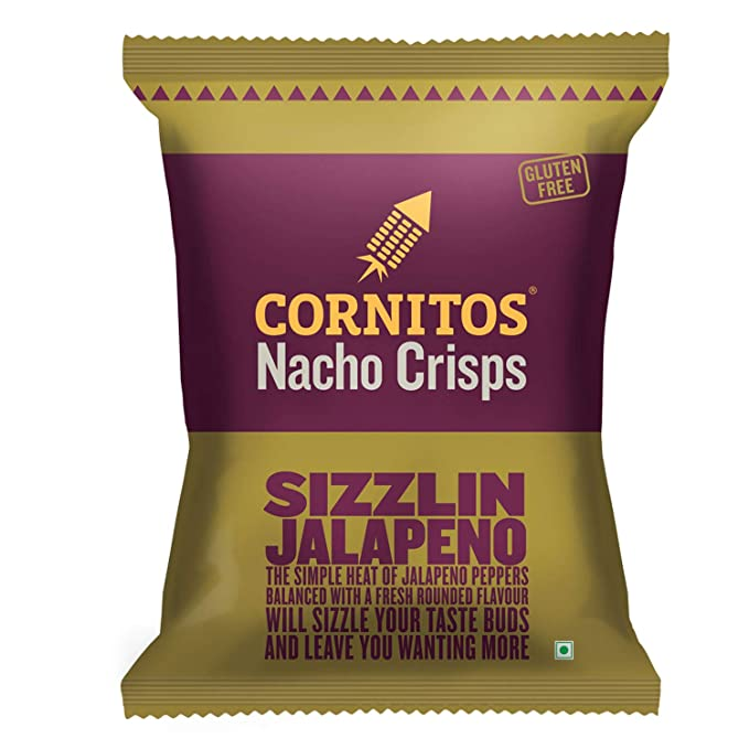 Cornitos Nachos Chips -Sizzling Jalapeno