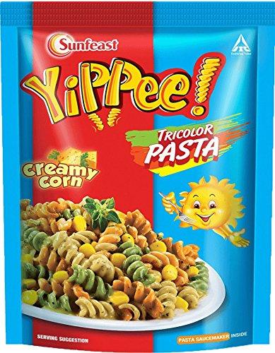 Sunfeast Yippie Tricolor Pasta - Creamy Corn