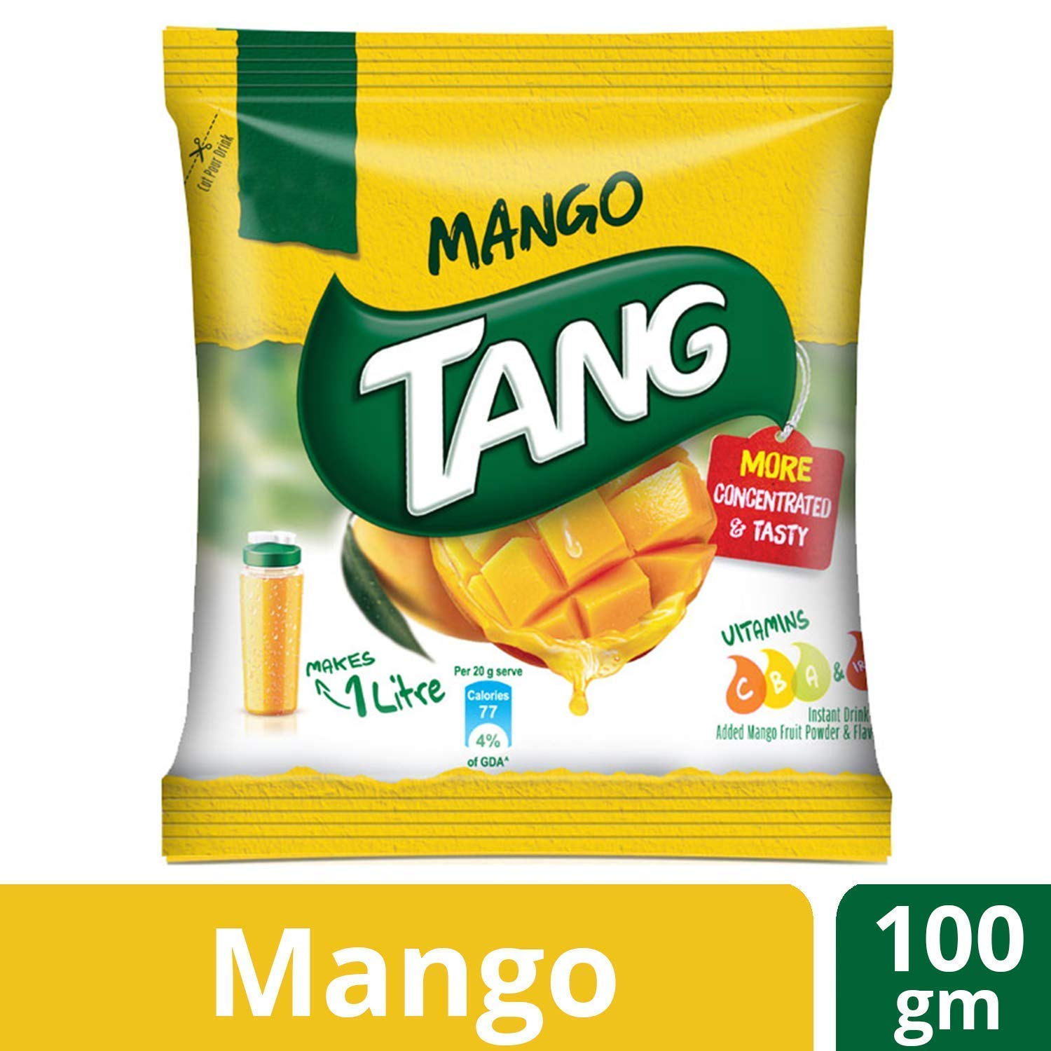 Tang Instant Energy Drink - Mango