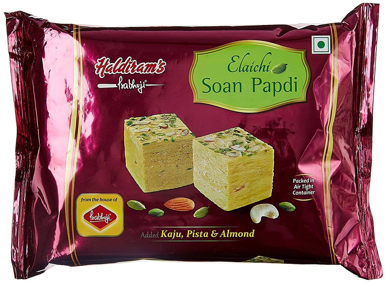 Haldiram's Prabhuji Elaichi Soan Papdi