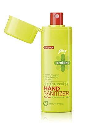 Godrej Protect Hand Sanitizer Spray 190/-