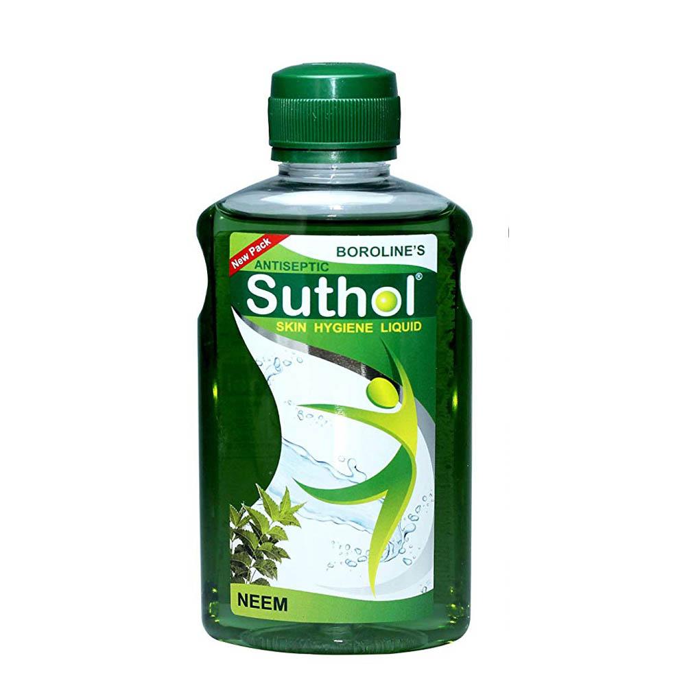Suthol Antiseptic Skin Liquid- Neem