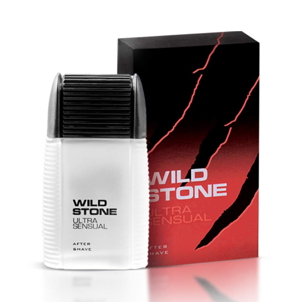 Wild Stone After Shave Lotion- Ultra Sensual (red)
