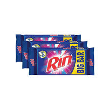 Rin Detergent Bar (Pack of 3)