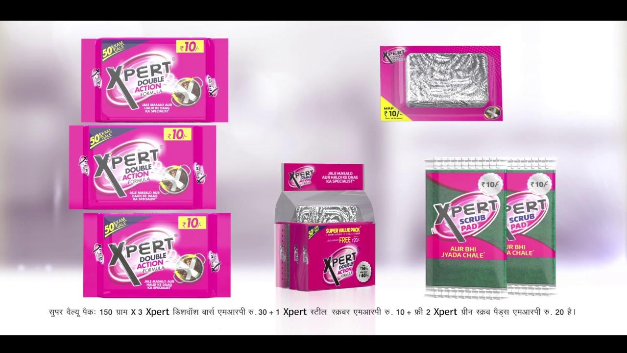 Xpert Dishwash Bar- Super Value Pack 40/-