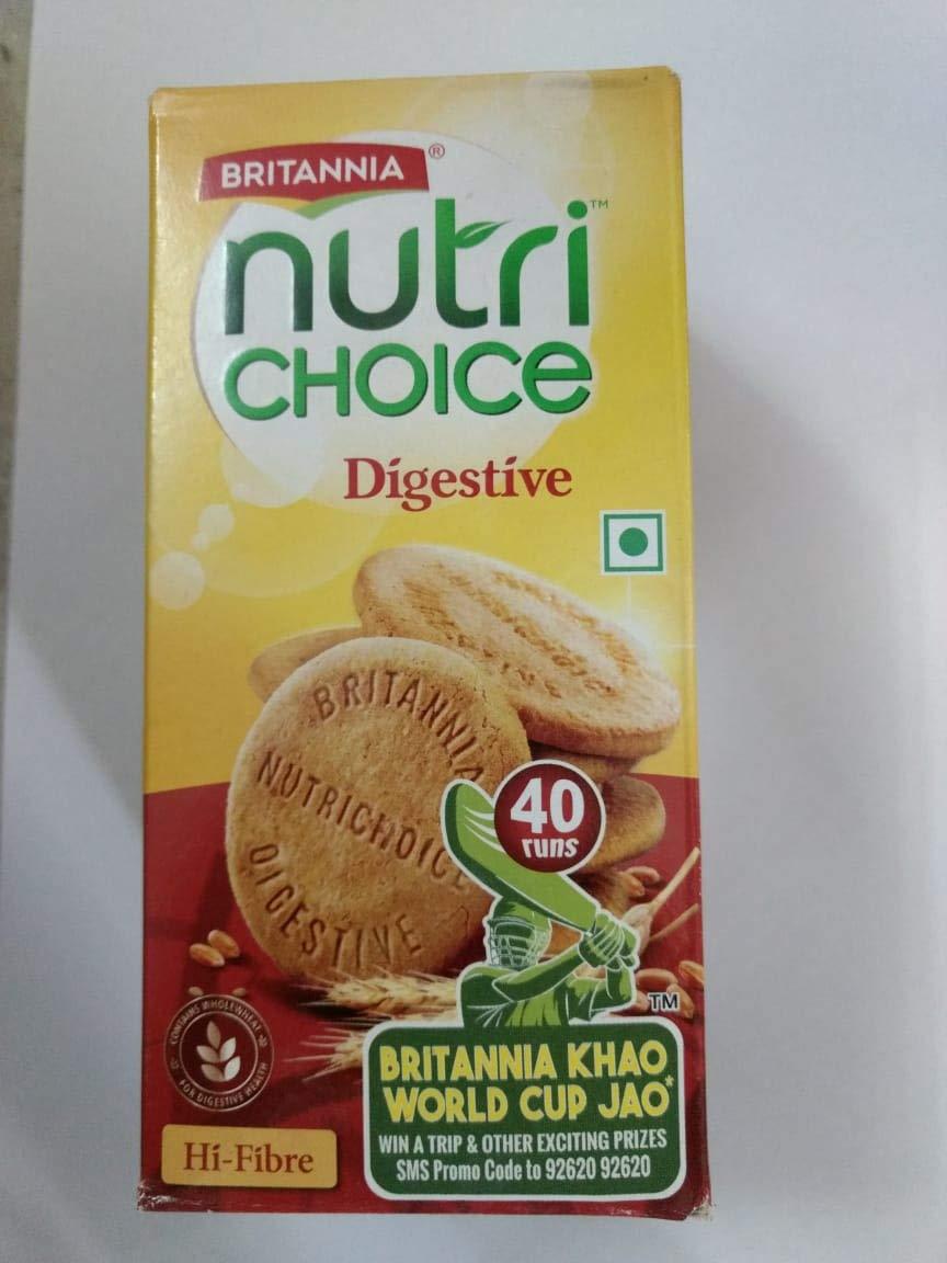 Britannia Nutri Choice Hi Fiber Digestive Biscuits
