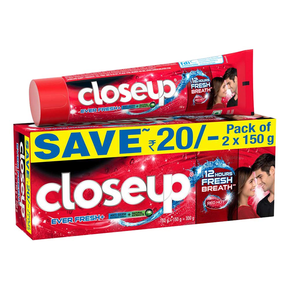 CLOSE UP EVER FRESH TOOTHPASTE