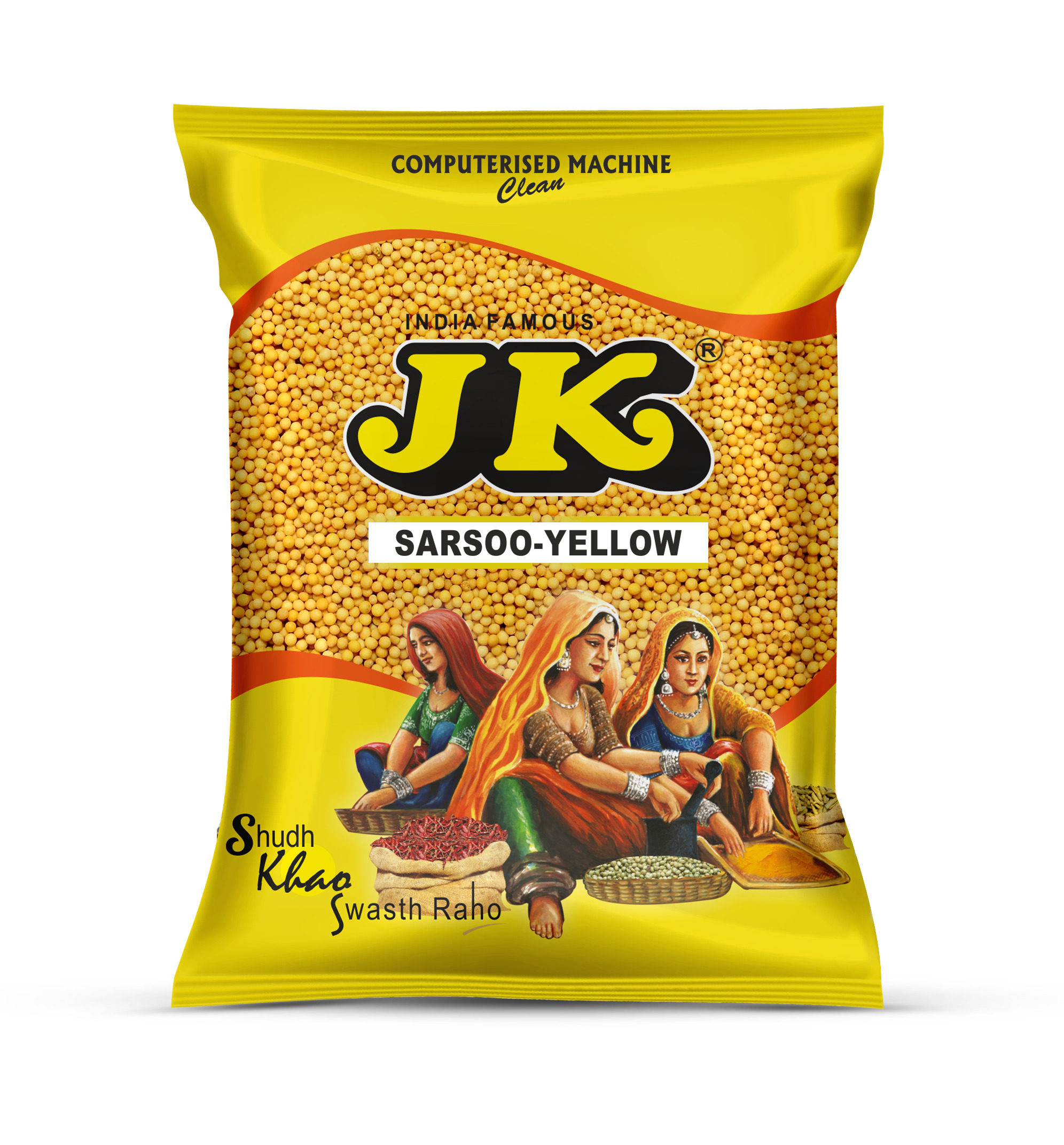 JK Sarsoo Yellow Whole