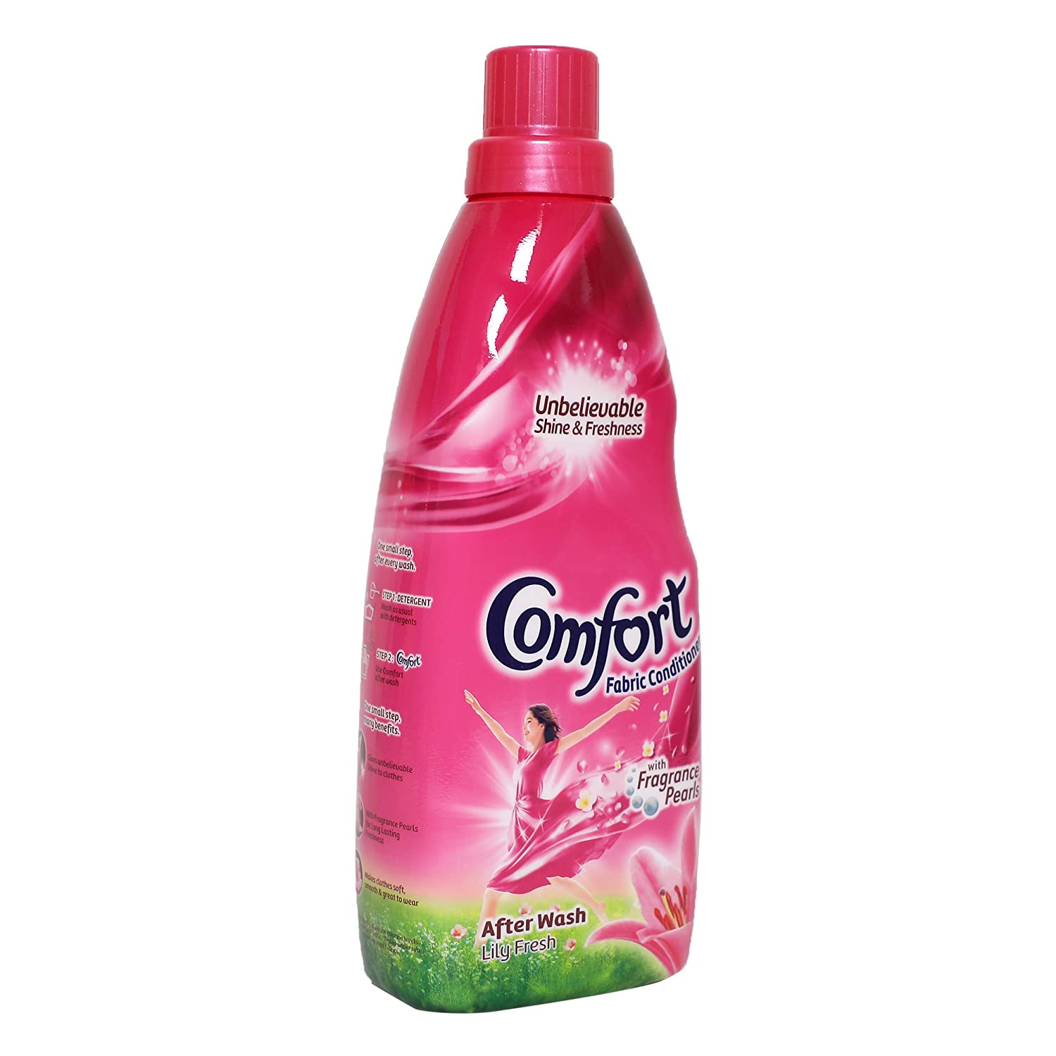 Comfort After Wash Morning Fresh Fabric Conditioner.
