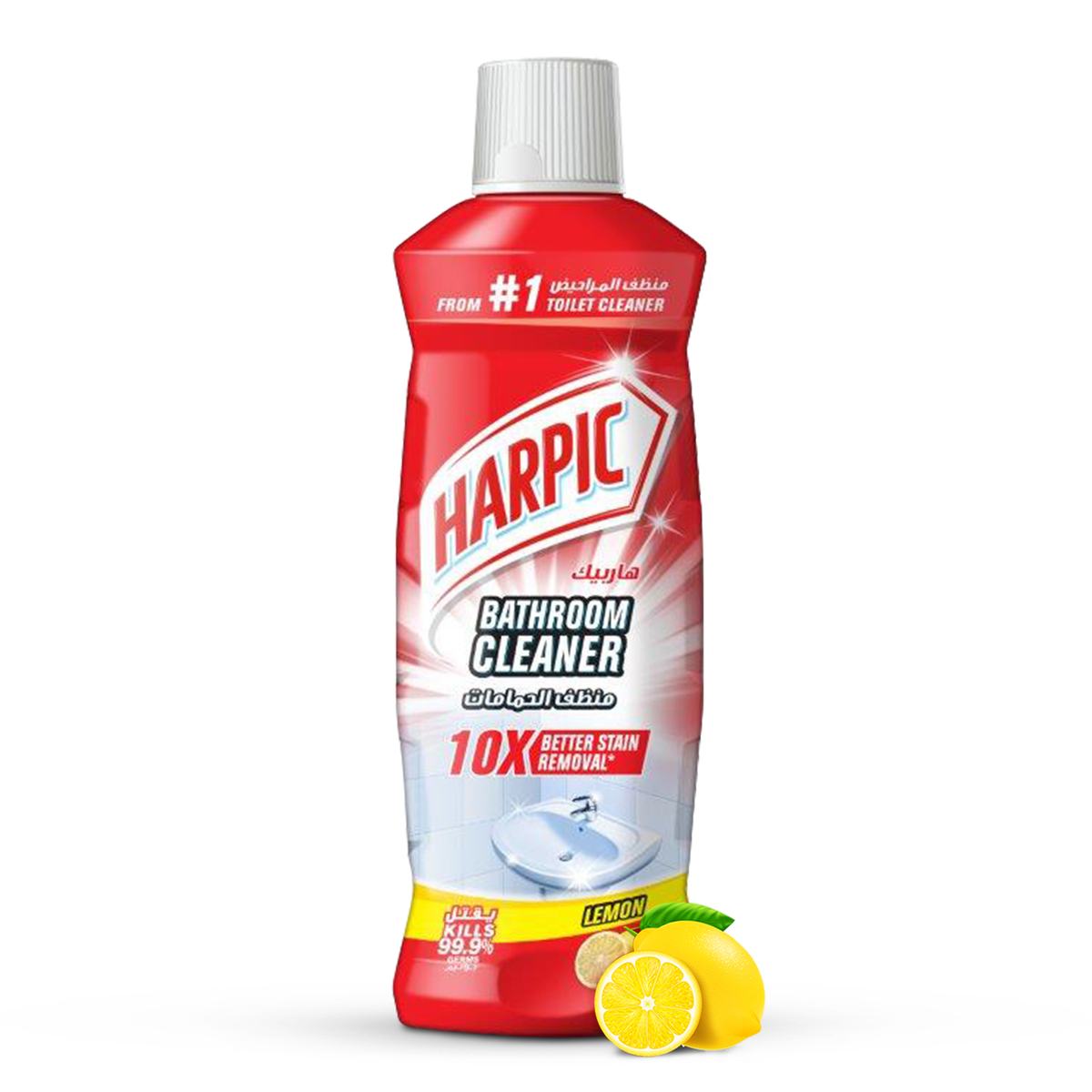 Harpic Bathroom Cleaner - Lemon.
