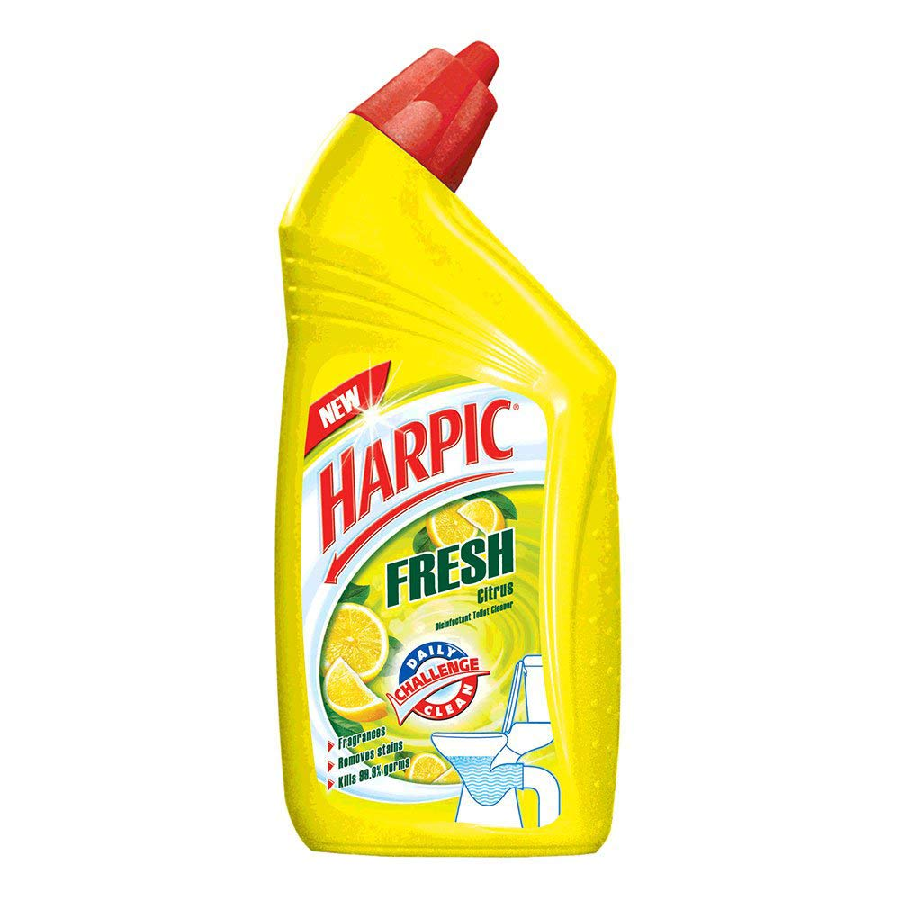 Harpic Fresh Toilet Cleaner Citrus.