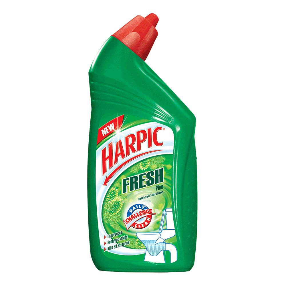 Harpic Fresh Toilet Cleaner Pine.
