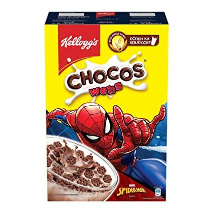 Kellogg's Chocos Webs Pouch.