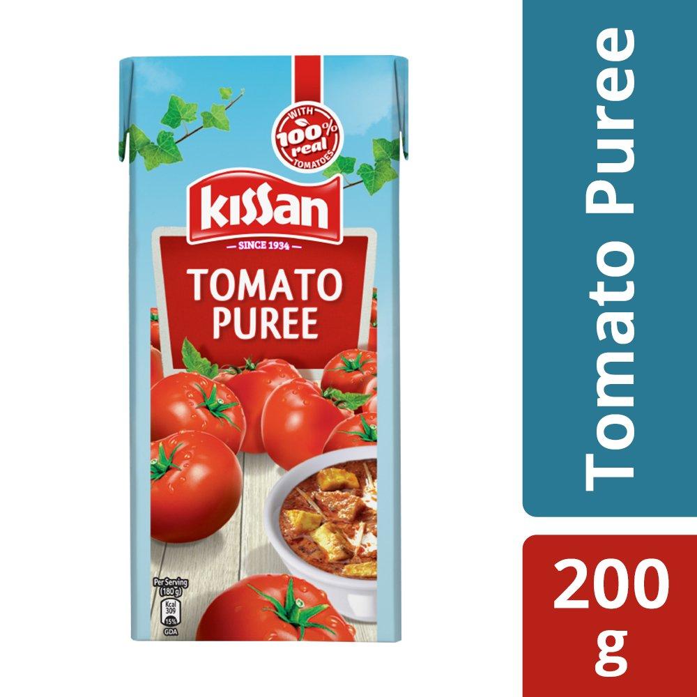 Kissan Fresh Tomato Puree.