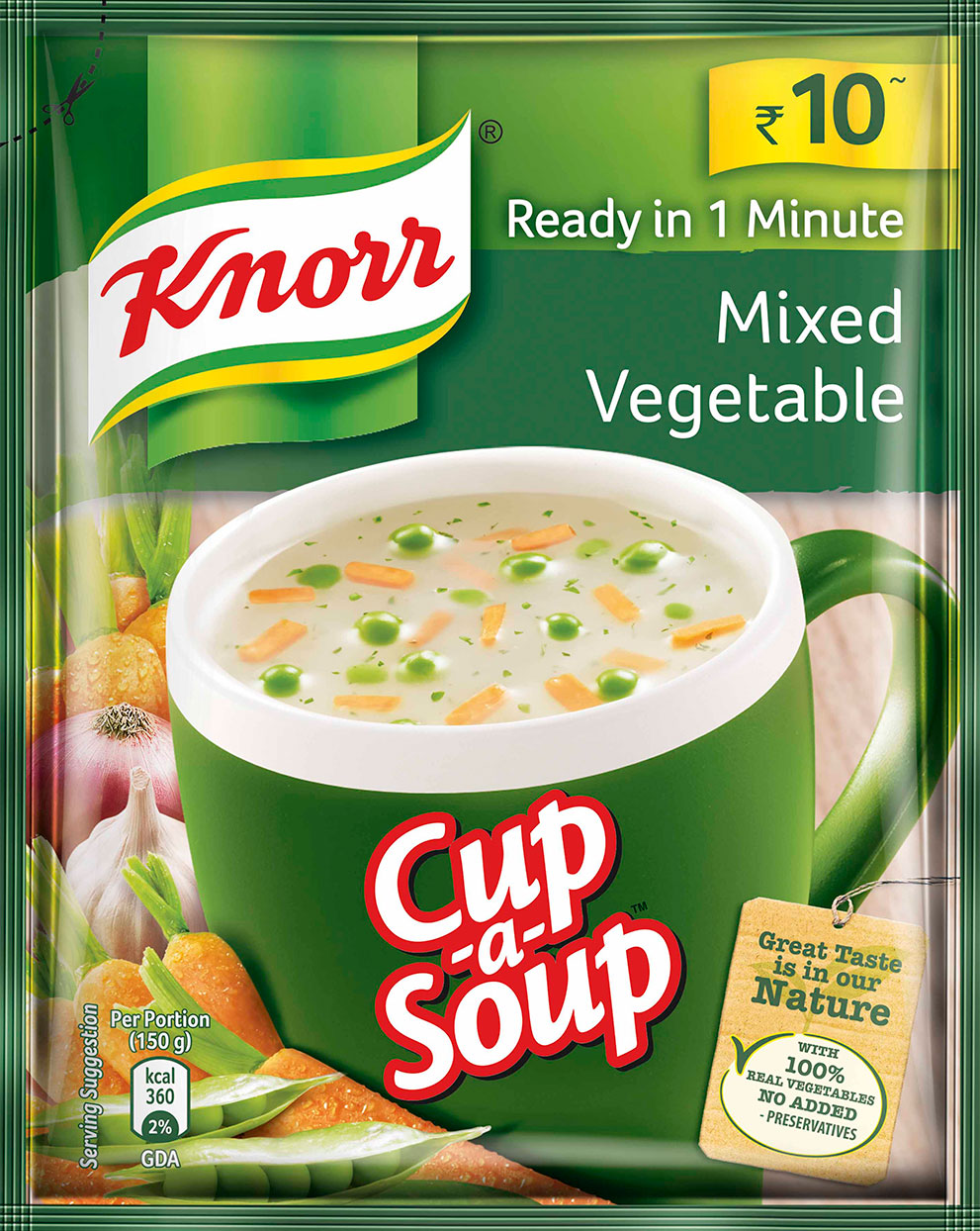 Knorr Mixed Vegetable Soup.