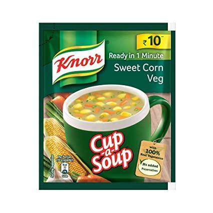 Knorr Classic Sweet Corn Veg Soup.