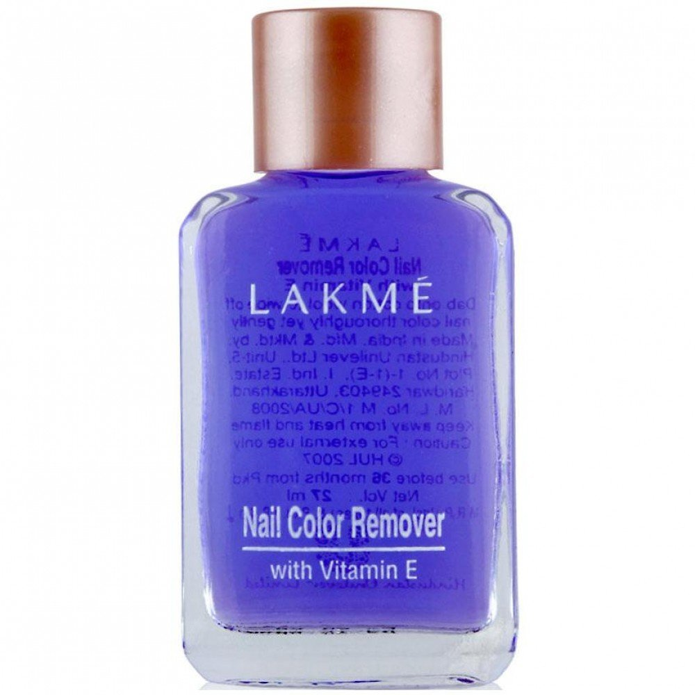 Lakme Nail Color Remover.
