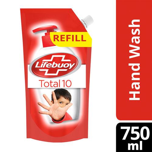 Lifebuoy Total 10 Activ Naturol Germ Protection Handwash Refill.