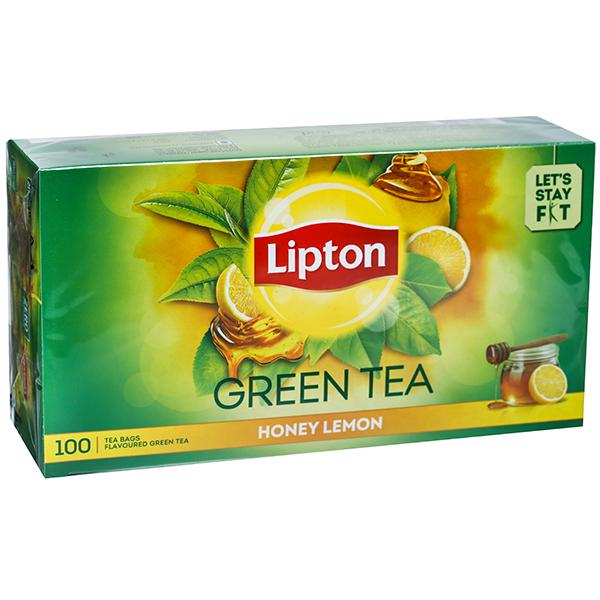 Honey Lemon Green Tea 100Bags
