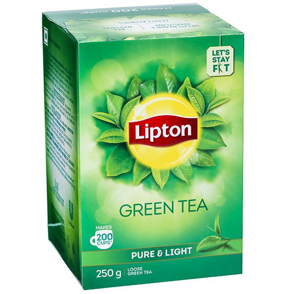 Lipton Pure & Light Green.
