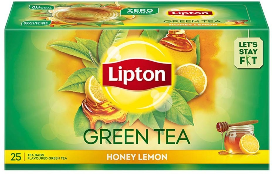 Lipton Green Tea Honey Lemon.