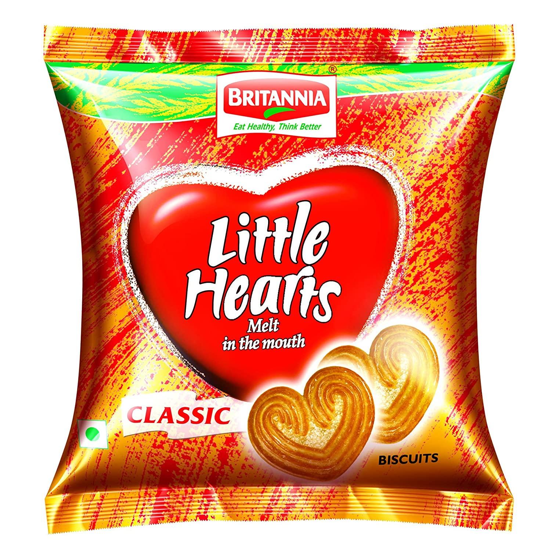 Britannia Little Hearts Classic.