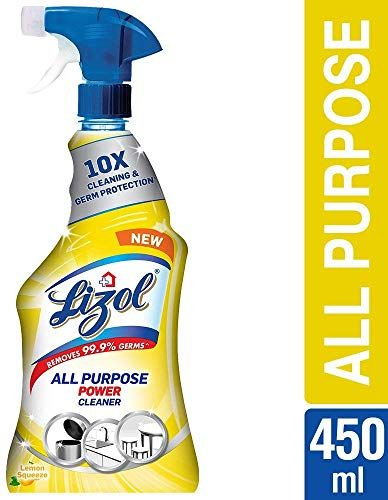 Lizol All Purpose Power Cleaner Liquid Spray.