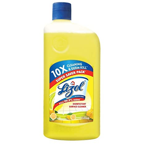 Lizol Disinfectant Floor Cleaner, Citrus.