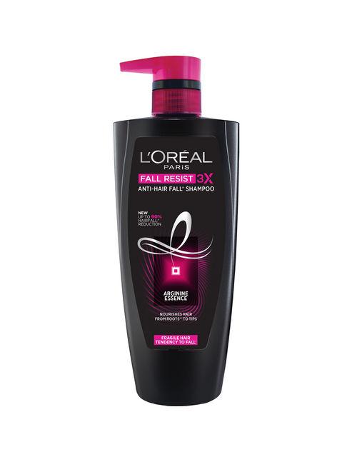 L'Oreal Paris Fall Resist 3X Anti-Hairfall Shampoo,