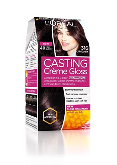 Loreal Paris Casting Creme Gloss Burgundy Hair Colour