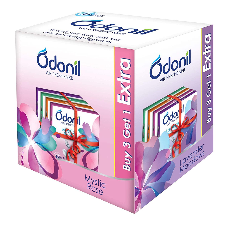 Odonil Bathroom Air Freshener Blocks – 75 g (Buy 3 get 1 Free)