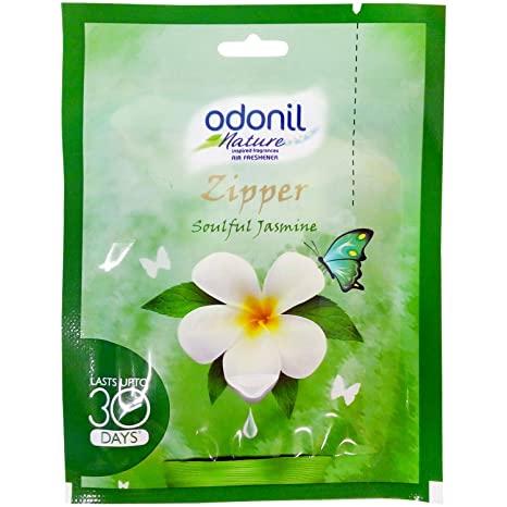 Odonil Nature Zipper Air Freshener - Soulful Jasmine.